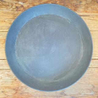 合成樹脂製 受け皿 ブラック 直径23.3cm(プランター)