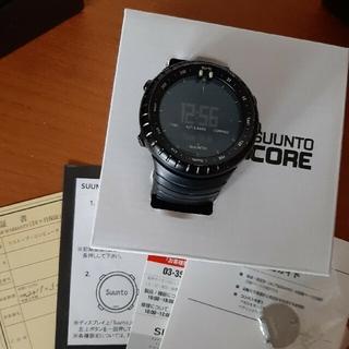 SUUNTO - 正規品 SUUNTO CORE ALL BLACK スント コア オール 腕時計