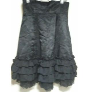 ATELIER BOZ - Moi-meme-Moitie 薔薇柄オリジナルレーススカート 黒 美品