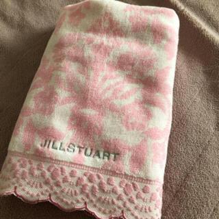 JILLSTUART - ジルスチュアート バスタオル お花ダマスク柄