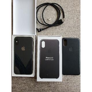 アイフォーン(iPhone)の新品 Iphone XS 256gb simフリー(スマートフォン本体)