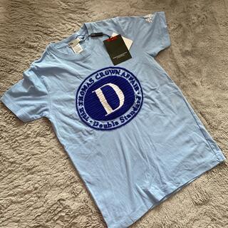 ダブルスタンダードクロージング(DOUBLE STANDARD CLOTHING)のダブスタ ロゴ刺繍 Tシャツ 新品タグ付き(Tシャツ(半袖/袖なし))