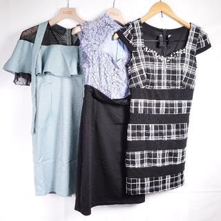 dazzy store - DAZZY ドレス3点 レディース グリーン/ブルー/ブラック