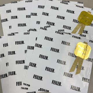 フェイラー(FEILER)の☆新品☆ フェイラー 紙袋(ショップ袋)