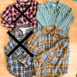 【専用】ネルシャツ 2枚 GU  shuca  SEVENDAYS SUNDAY(シャツ/ブラウス(長袖/七分))