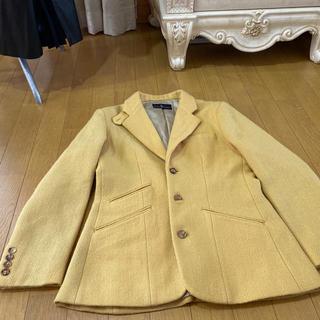 ラルフローレン(Ralph Lauren)のラルフローレン ジャケット ウール100 山吹色 Mサイズ(テーラードジャケット)