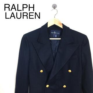 ラルフローレン(Ralph Lauren)のB287 ラルフローレン テーラードジャケットコート ゴールドボタン (テーラードジャケット)