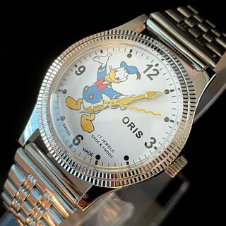 オリス(ORIS)の【大人気】★ドナルドダック★ORIS/オリス★手巻き★腕時計/ウオッチ(腕時計(アナログ))