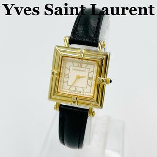サンローラン(Saint Laurent)の✨美品✨イヴサンローラン クォーツ 腕時計 レディース(腕時計)