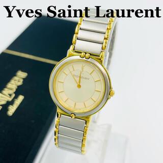 サンローラン(Saint Laurent)の✨極美品✨イヴサンローラン クォーツ 腕時計 レディース(腕時計)