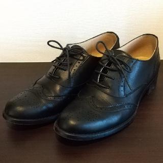バークレー(BARCLAY)の☆マカロン様専用☆【BARCLAY】レザーレースアップシューズ(ブラック)(ローファー/革靴)