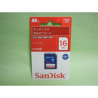 SanDisk - サンディスク SDHCメモリーカード 16GB 防水 SDSDB-016G 新品