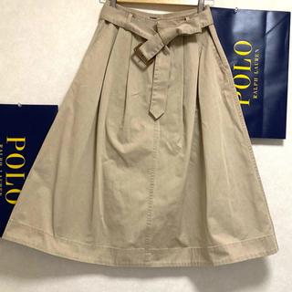 ポロラルフローレン(POLO RALPH LAUREN)のポロラルフローレン ロングスカート コットン(ロングスカート)