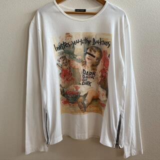 ミルクボーイ(MILKBOY)の【MILKBOY】ジッパー付きロングTシャツ/美品/ミルクボーイ/ロンT(Tシャツ(長袖/七分))