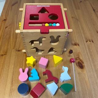 ミキハウス(mikihouse)の【ミキハウス】木のおもちゃ(知育玩具)