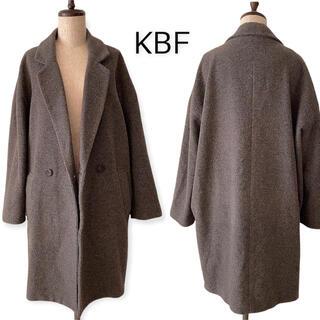 ケービーエフ(KBF)のKBF ウール オーバーサイズ ロングコート(ロングコート)