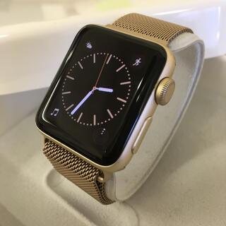 Apple Watch - アップルウォッチ レアカラー ゴールド シリーズ2 38mm Apple