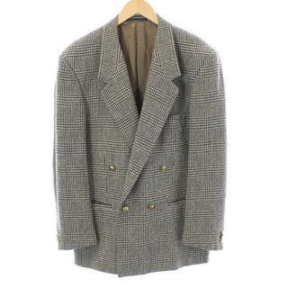 ジャンニヴェルサーチ(Gianni Versace)のジャンニヴェルサーチ ヴェルサーチェ テーラードジャケット 50 XL 茶色(テーラードジャケット)
