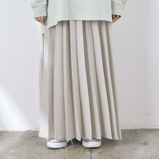 craftstandard★プリーツスカート★ロングマキシ(ロングスカート)