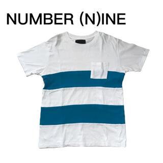 ナンバーナイン(NUMBER (N)INE)のナンバーナイン Tシャツ NUMBER (N)INE ボーダー 半袖Tシャツ(Tシャツ/カットソー(半袖/袖なし))