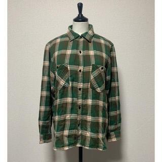 アンユーズド(UNUSED)のUNUSED×Leeチェックネルワークシャツ(シャツ)