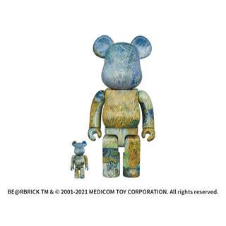 メディコムトイ(MEDICOM TOY)の新品ベアブリック ゴッホ ゴッホ展 100% 400% van gogh(フィギュア)