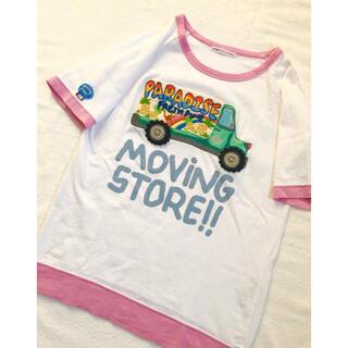 rough - rough natural charm  ビッグプリントTシャツ
