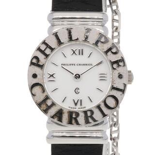 シャリオール(CHARRIOL)の【中古】シャリオール CHARRIOL 腕時計  シルバー925(腕時計)