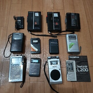 SONY - ラジオ カセットレコーダー SONY Panasonic他 まとめ セット