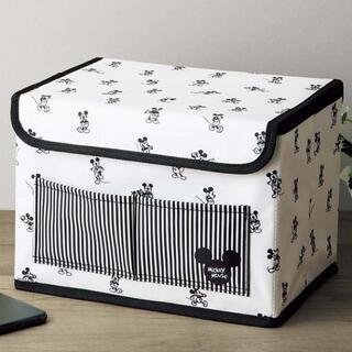 ミッキーマウス(ミッキーマウス)のInRed 2021年8月号【付録】ミッキーマウスデザイン 収納ボックス(ケース/ボックス)