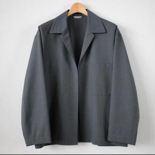 コモリ(COMOLI)のAURALEE Wool Silk Tropical Shirts Jacket(その他)