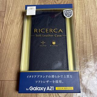 ELECOM - Galaxy A21 ソフトレザーケース/イタリアン(Coronet) 9678