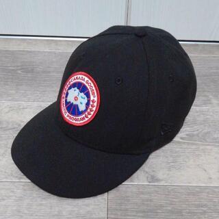 カナダグース(CANADA GOOSE)のカナダグース ニューエラ コラボ ベースボールキャップ(キャップ)