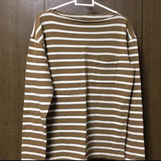 ギャップ(GAP)の#メンズ #GAP #カットソー  サイズ #XS #カットソー  #ボーダー(Tシャツ/カットソー(七分/長袖))