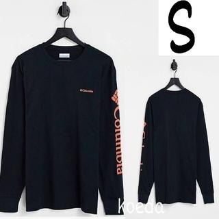 コロンビア(Columbia)のColumbia コロンビア ロンt 長袖 海外限定 ブラック 黒 海外S(Tシャツ/カットソー(七分/長袖))