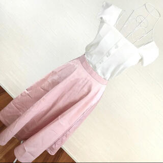 ダズリン(dazzlin)の2回着用✨ダズリン ピンク スカート ロング フレア(ロングスカート)