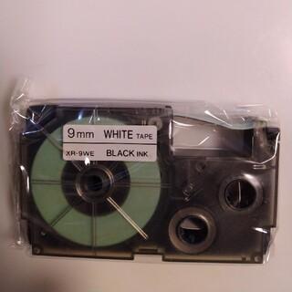 カシオ(CASIO)の NAME LAND(ネームランド)テープ白XR-9WE  1個(テープ/マスキングテープ)