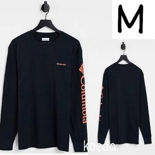 コロンビア(Columbia)のColumbia コロンビア ロンt 長袖 海外限定 ブラック 黒 海外Mサイズ(Tシャツ/カットソー(七分/長袖))