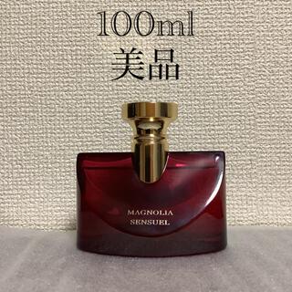 BVLGARI - 美品 ブルガリ スプレンディダ マグノリア センシュアル 100ml 香水