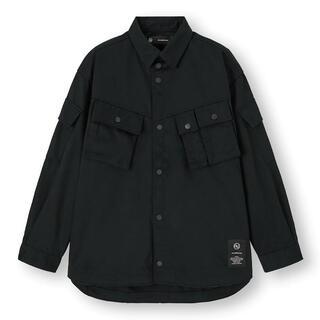 UNDERCOVER - 黒XL新品 GU UNDERCOVER ブルゾン 長袖 シャツ アンダーカバー