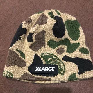 エクストララージ(XLARGE)のエクストララージ ニット帽(帽子)