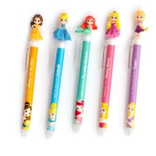 Disney - ディズニープリンセス ジェルボールペン 5本セット