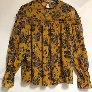 ショコラフィネローブ(chocol raffine robe)のブラウス 長袖(シャツ/ブラウス(長袖/七分))