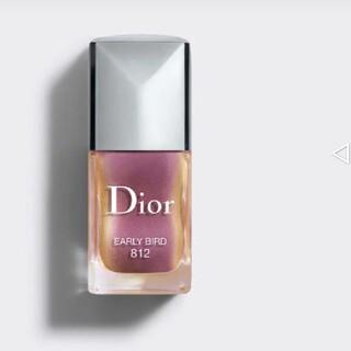 クリスチャンディオール(Christian Dior)の◆新品 ディオールヴェルニ 812 アーリーバード ◆(マニキュア)