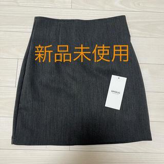 ディーホリック(dholic)の新品未使用 DHOLIC Aラインミニスカート S(ミニスカート)