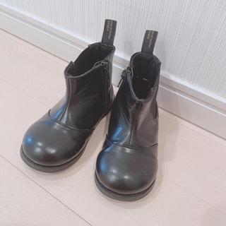 プティマイン(petit main)の【専用】サイドゴアブーツ17㎝ プティマイン (ブーツ)