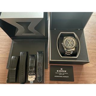 エドックス(EDOX)の美品 エドックス EDOX 50本 クロノオフショア(腕時計(アナログ))