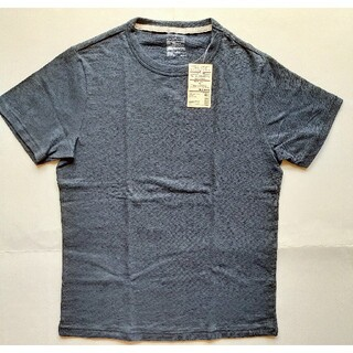 ムジルシリョウヒン(MUJI (無印良品))のMUJI(無印良品)☆クルーネックTシャツ 半袖 メンズ ダークネイビー送料無料(Tシャツ/カットソー(半袖/袖なし))