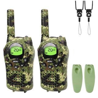 トランシーバー 2台セット 無線機 VOXハンドフリー機能付き 免許資格不要(アマチュア無線)