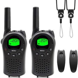 トランシーバー 2台セット 無線機 VOXハンドフリー機能付き 免許資格不要 (アマチュア無線)